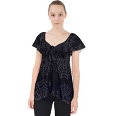 Spider Web Dolly Top