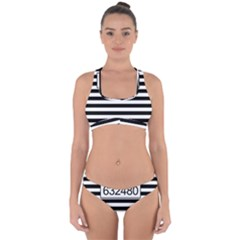 Prison  Cross Back Hipster Bikini Set