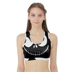 Halloween Sports Bra With Border