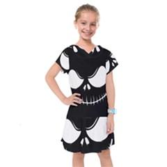 Halloween Kids  Drop Waist Dress