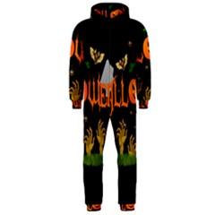 Halloween Hooded Jumpsuit (men)