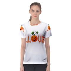 Halloween Women s Sport Mesh Tee