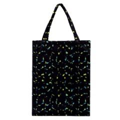 Splatter Abstract Dark Pattern Classic Tote Bag