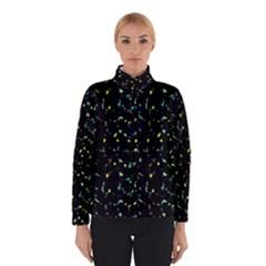 Splatter Abstract Dark Pattern Winterwear