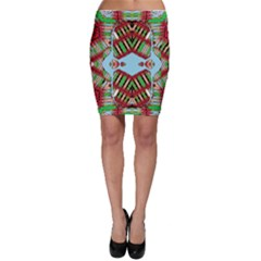 Digital Dot One Bodycon Skirt