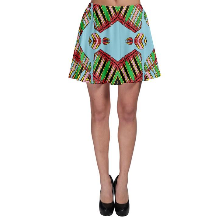 Digital Dot One Skater Skirt