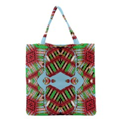 Digital Dot One Grocery Tote Bag