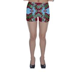 Digital Dot One Skinny Shorts