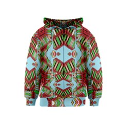 Digital Dot One Kids  Zipper Hoodie