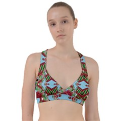 Digital Dot One Sweetheart Sports Bra