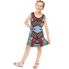 Digital Dot One Kids  Tunic Dress