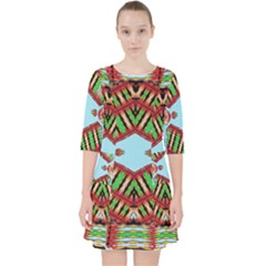Digital Dot One Pocket Dress