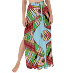 Digital Dot One Maxi Chiffon Tie Up Sarong