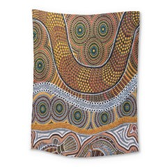 Aboriginal Traditional Pattern Medium Tapestry