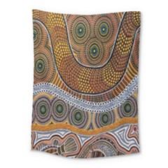 Aboriginal Traditional Pattern Medium Tapestry