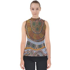 Aboriginal Traditional Pattern Shell Top