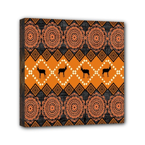 Traditiona  Patterns And African Patterns Mini Canvas 6  X 6