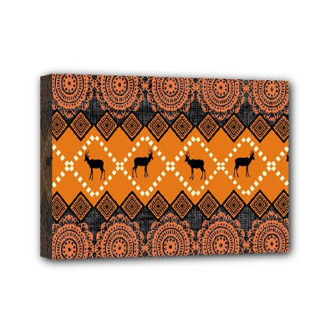 Traditiona  Patterns And African Patterns Mini Canvas 7  X 5
