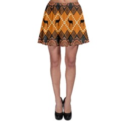 Traditiona  Patterns And African Patterns Skater Skirt