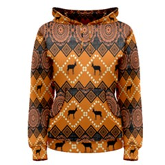 Traditiona  Patterns And African Patterns Women s Pullover Hoodie