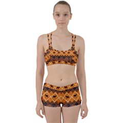 Traditiona  Patterns And African Patterns Women s Sports Set