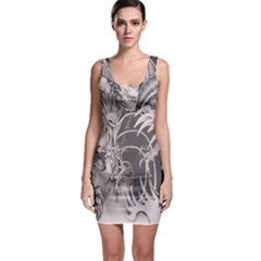 Chinese Dragon Tattoo Bodycon Dress