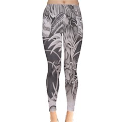 Chinese Dragon Tattoo Leggings