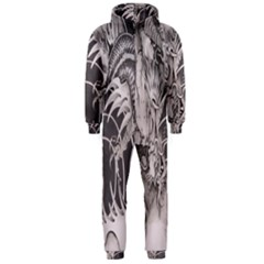 Chinese Dragon Tattoo Hooded Jumpsuit (men)