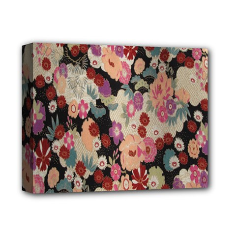 Japanese Ethnic Pattern Deluxe Canvas 14  X 11
