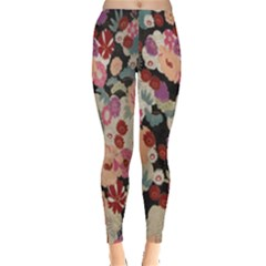 Japanese Ethnic Pattern Leggings