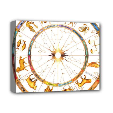 Zodiac  Institute Of Vedic Astrology Deluxe Canvas 14  X 11