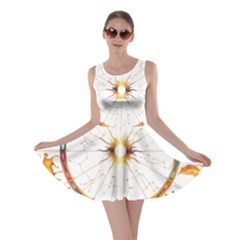 Zodiac  Institute Of Vedic Astrology Skater Dress
