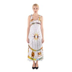 Zodiac  Institute Of Vedic Astrology Sleeveless Maxi Dress