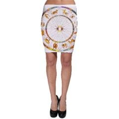 Zodiac  Institute Of Vedic Astrology Bodycon Skirt