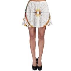 Zodiac  Institute Of Vedic Astrology Skater Skirt