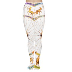 Zodiac  Institute Of Vedic Astrology Women s Tights