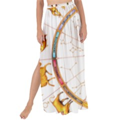 Zodiac  Institute Of Vedic Astrology Maxi Chiffon Tie Up Sarong