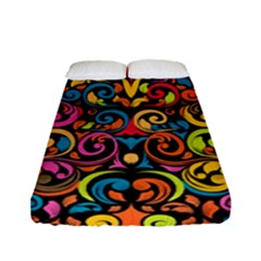 Art Traditional Pattern Fitted Sheet (full/ Double Size)