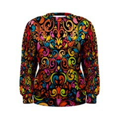 Art Traditional Pattern Women s Sweatshirt
