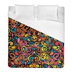 Art Traditional Pattern Duvet Cover (full/ Double Size)