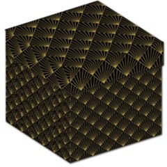 Abstract Stripes Pattern Storage Stool 12