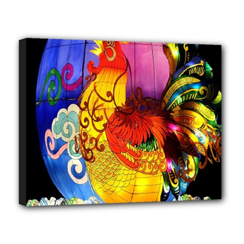 Chinese Zodiac Signs Canvas 14  X 11