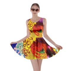 Chinese Zodiac Signs Skater Dress