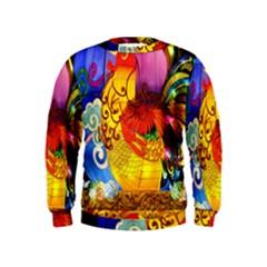Chinese Zodiac Signs Kids  Sweatshirt