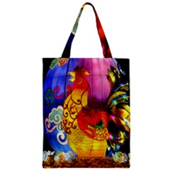 Chinese Zodiac Signs Zipper Classic Tote Bag