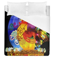 Chinese Zodiac Signs Duvet Cover (queen Size)
