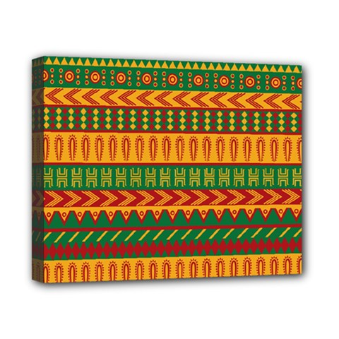 Mexican Pattern Canvas 10  X 8