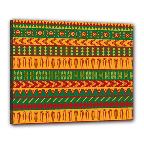Mexican Pattern Canvas 20  X 16