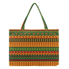 Mexican Pattern Medium Tote Bag