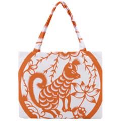 Chinese Zodiac Dog Mini Tote Bag